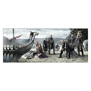 Неформатный постер Vikings. Размер: 150 х 60 см